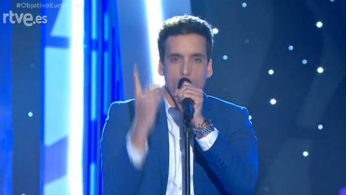 Xuso Jones canta en Objetivo Eurovisión