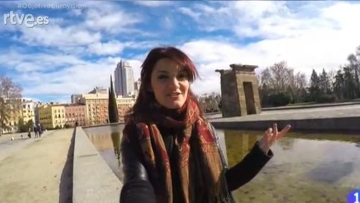 Electric Nana canta en Objetivo Eurovisión