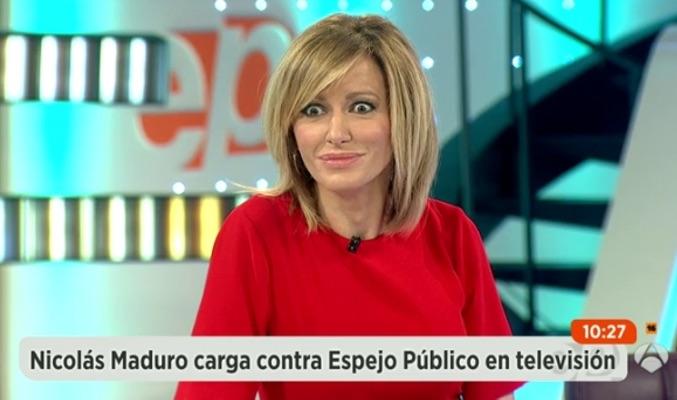 Nicol s maduro ataca a 39 espejo p blico 39 y susanna griso le responde - Antena 3 espejo publico ...