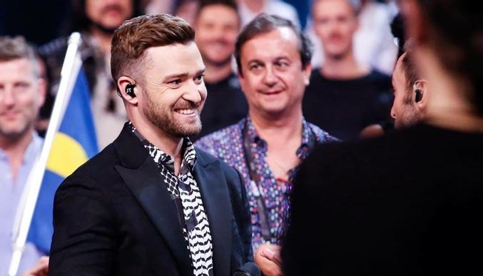 Justin Timberlake en Eurovisión 2016 -1