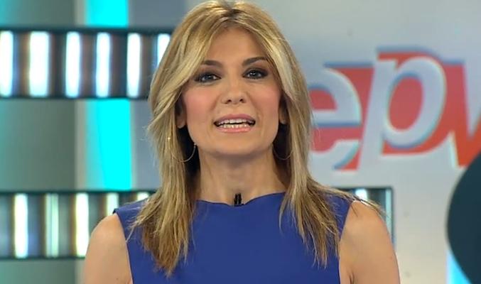 As ha sido el primer d a de sandra golpe al frente de 39 espejo p blico 39 nervios qu ha sido - Antena 3 espejo publico ...