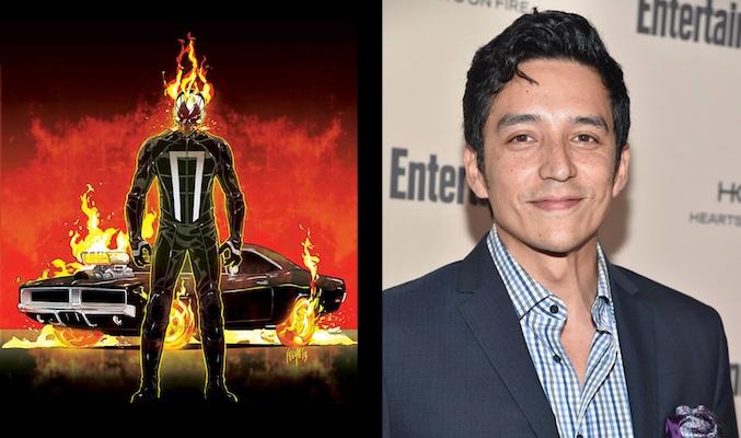 Gabriel Luna es Ghost Rider en Agents of Shield