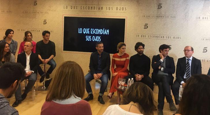 Presentación de 'Lo que escondían sus ojos', la nueva miniserie de Telecinco