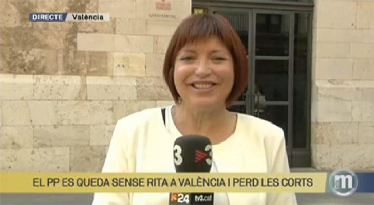 DIRECTORA DE A PUNT: ' CON TV3 HABRA MAS SINTONIA PORQUE COMPARTIMOS LENGUA '