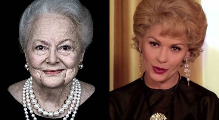 Catherine Zeta-Jones es Olivia de Havilland en 'Feud'