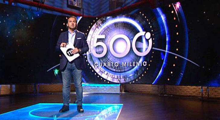 Iker jim nez sobre el programa 500 de 39 cuarto milenio for El cuarto milenio en directo