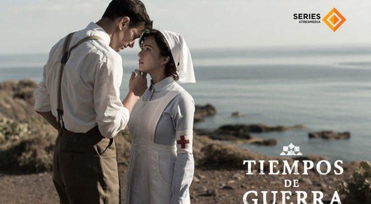 Cristóbal Suárez y Verónica Sánchez en 'Tiempos de guerra'
