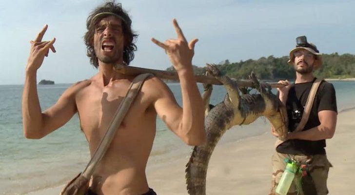 Los participantes de 'La isla' cazan un caimán