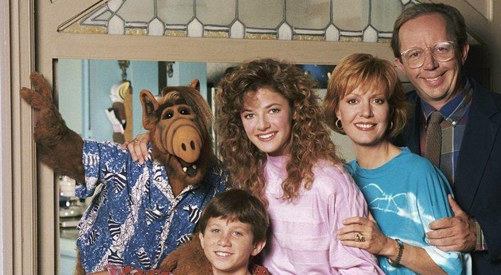 Alf junto a la familia Tanner en 'Alf'