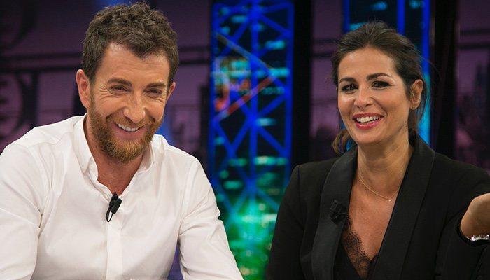 Nuria Roca y Pablo Motos en 'El hormiguero'