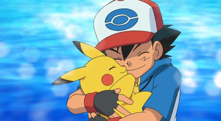 Pikachu y Ash en 'Pokémon'
