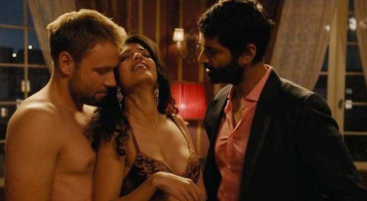 Kala, Wolfgang y Rajan forman un trío amoroso en 'Sense8'