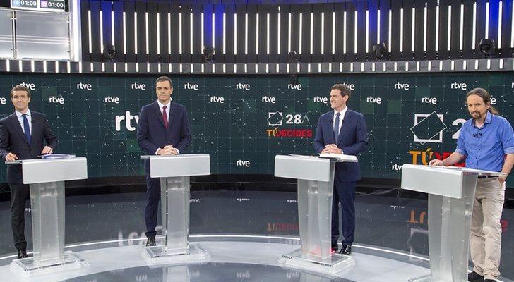 El Debate En Rtve Registra Un Increíble 358 En La 1 Y Un 436