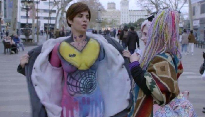 Samanta Villar Pasea Desnuda Por Barcelona En La Vida Creía Yo