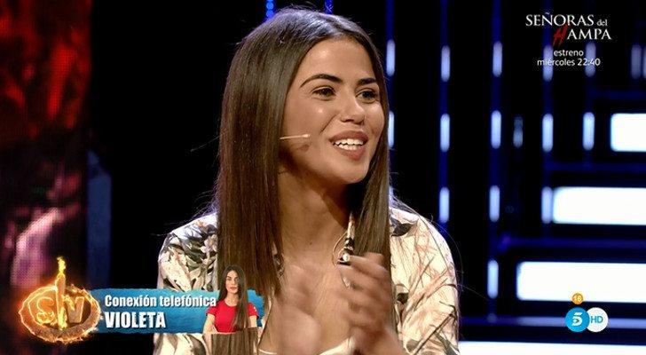 Supervivientes 2019 Violeta Mangriñán Entra Por Teléfono En