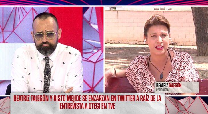 Risto Mejide Y Beatriz Talegón Enfrentados Mientras Esté En Este