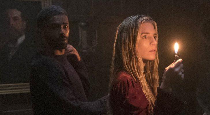 Karim y OA en la segunda temporada de 'The OA'