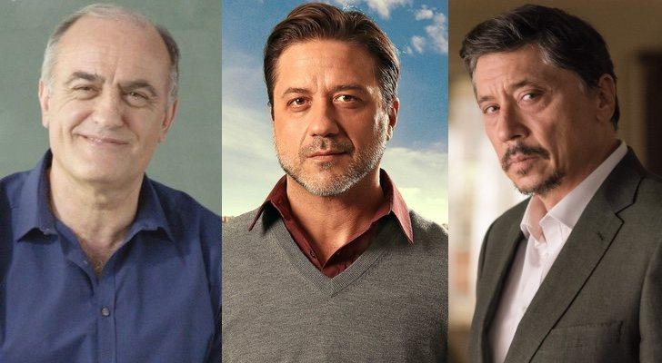 Francesc Orella, Enrique Arce y Carlos Bardem