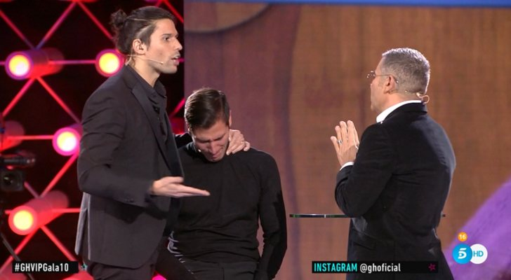 Luca defiende a su hermano Gianmarco ante Jorge Javier en 'GH VIP 7'