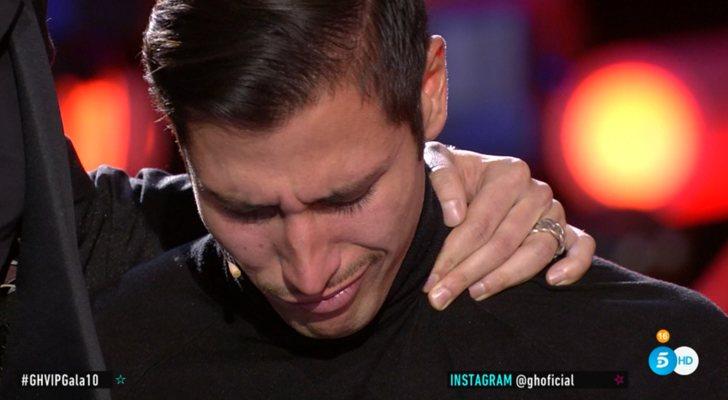 Gianmarco se derrumba tras confesar sus sentimientos por Adara en la Gala 10 de 'GH VIP 7'