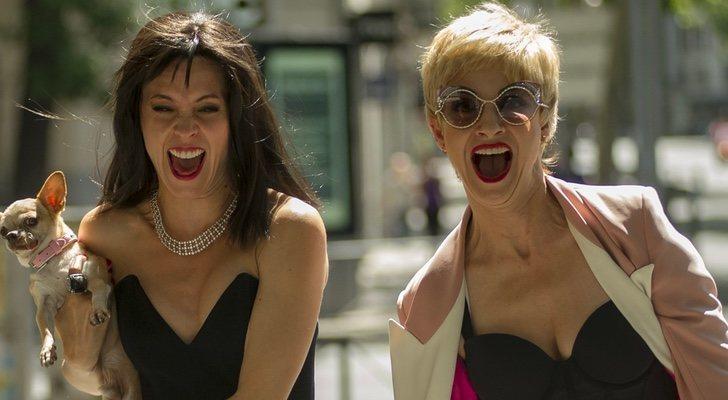 Maggie Civantos y Najwa Nimrin en 'Vis a vis: El oasis'
