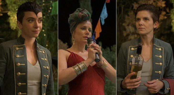 Claudia Riera, Lisi Linder e Isabel Naveira en 'Vis a vis: El Oasis'