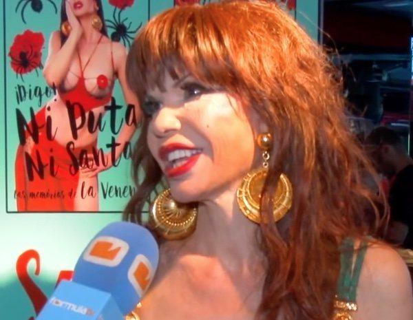 """Cristina 'La Veneno': """"Me gustaría una película de mi vida, pero sería un drama muy fuerte"""""""