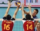 La selección española de voleibol se juega con este partido su entrada en el Europeo del año que viene, que se disputará en Francia, Eslovenia, Bélgica y Holanda
