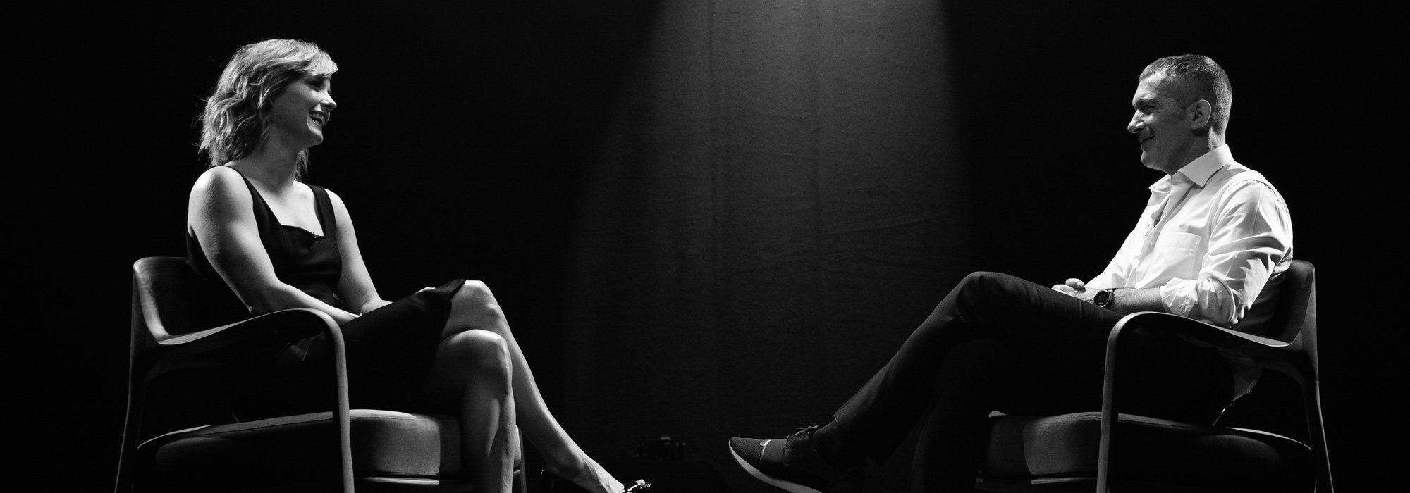 Escena en blanco y negro