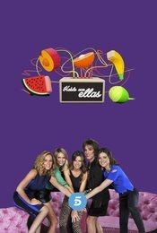Cartel de Hable con ellas en Telecinco
