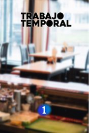 Cartel de Trabajo temporal