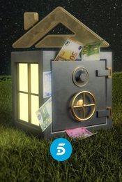 Cartel de La casa fuerte