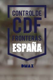 Cartel de Control de fronteras: España