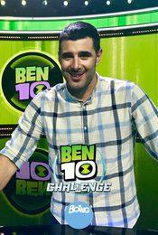 Cartel de Ben 10 Challenge