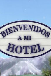 Cartel de Bienvenidos a mi hotel