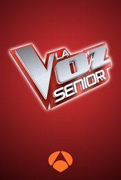 Cartel de La Voz Senior