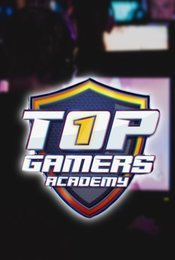 Cartel de Top Gamers Academy