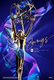 Cartel de 72th Primetime Emmy Awards