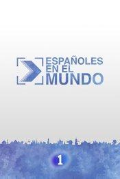 Cartel de Españoles en el mundo
