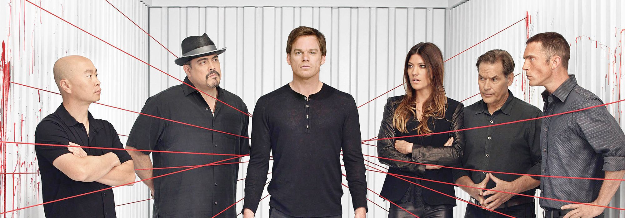 Personajes Dexter. Reparto de actores