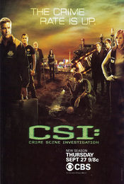 Cartel de CSI: Las Vegas
