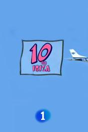 Cartel de Diez en Ibiza