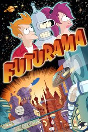 Cartel de Futurama