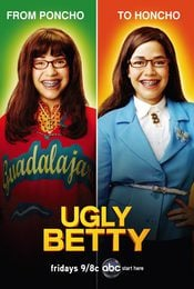 Cartel de Ugly Betty
