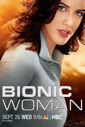 Cartel de Mujer biónica