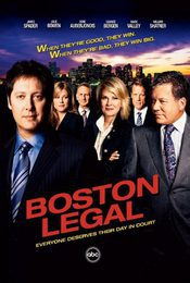 Cartel de Boston Legal