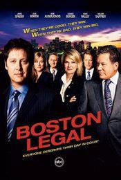 Cartel de Boston Legal
