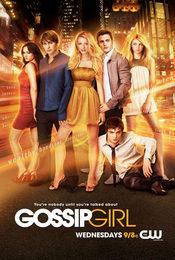 Cartel de Gossip Girl