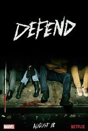 Cartel de Marvel - The Defenders