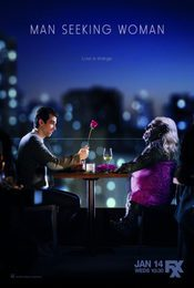 Cartel de Man Seeking Woman
